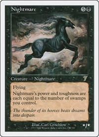 Nightmare, Magic, 7th Edition