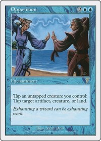 Opposition, Magic: The Gathering, 7th Edition