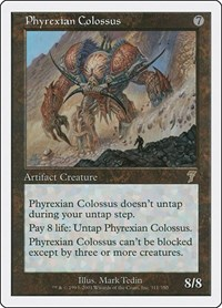 Phyrexian Colossus, Magic, 7th Edition