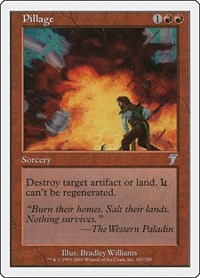 Pillage, Magic: The Gathering, 7th Edition