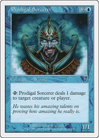 Prodigal Sorcerer, Magic: The Gathering, 7th Edition