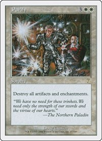 Purify, Magic: The Gathering, 7th Edition