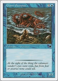Giant Octopus, Magic: The Gathering, Starter 1999