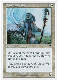Samite Healer, Magic: The Gathering, 7th Edition