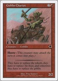 Goblin Chariot, Magic: The Gathering, Starter 1999
