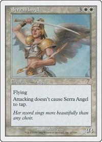 Serra Angel, Magic: The Gathering, 7th Edition