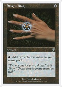 Sisay's Ring, Magic: The Gathering, 7th Edition