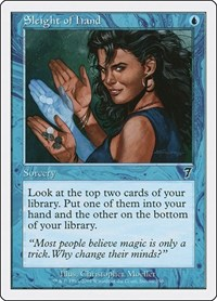 Sleight of Hand, Magic: The Gathering, 7th Edition