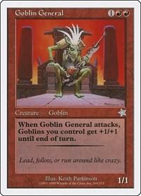 Goblin General, Magic: The Gathering, Starter 1999