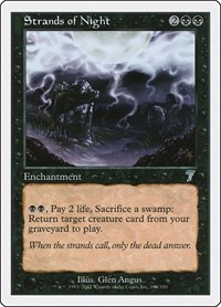 Strands of Night, Magic: The Gathering, 7th Edition