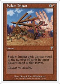 Sudden Impact, Magic: The Gathering, 7th Edition