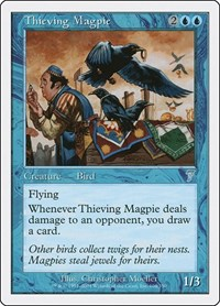 Thieving Magpie, Magic: The Gathering, 7th Edition