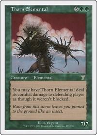 Thorn Elemental, Magic: The Gathering, 7th Edition