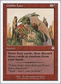 Goblin Lore, Magic: The Gathering, Starter 1999