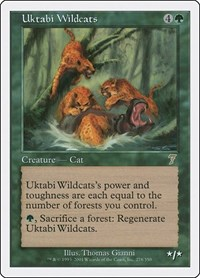 Uktabi Wildcats, Magic: The Gathering, 7th Edition