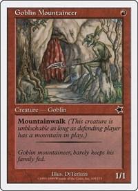 Goblin Mountaineer, Magic: The Gathering, Starter 1999