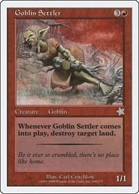 Goblin Settler, Magic: The Gathering, Starter 1999