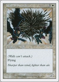 Wall of Swords, Magic: The Gathering, 7th Edition