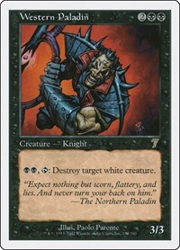 Western Paladin, Magic: The Gathering, 7th Edition