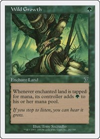 Wild Growth, Magic: The Gathering, 7th Edition
