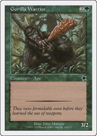 Gorilla Warrior, Magic: The Gathering, Starter 1999