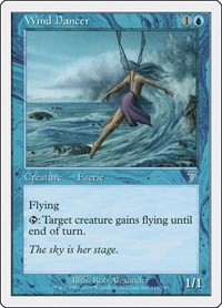 Wind Dancer, Magic: The Gathering, 7th Edition