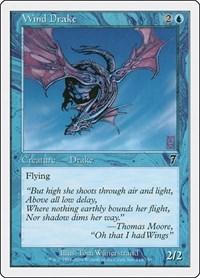 Wind Drake, Magic: The Gathering, 7th Edition