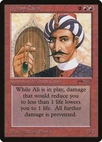 Ali from Cairo, Magic: The Gathering, Arabian Nights