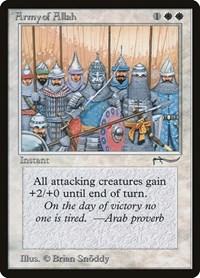 Army of Allah, Magic, Arabian Nights