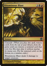 Bituminous Blast, Magic: The Gathering, Alara Reborn