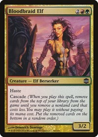 Bloodbraid Elf, Magic: The Gathering, Alara Reborn