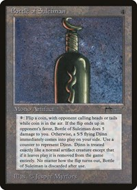 Bottle of Suleiman, Magic: The Gathering, Arabian Nights