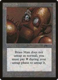 Brass Man, Magic: The Gathering, Arabian Nights