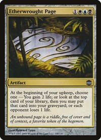 Etherwrought Page, Magic, Alara Reborn
