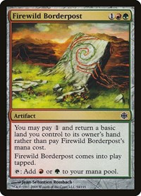 Firewild Borderpost, Magic, Alara Reborn