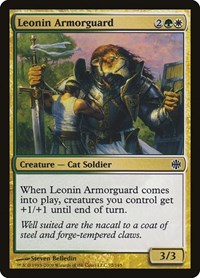 Leonin Armorguard, Magic: The Gathering, Alara Reborn