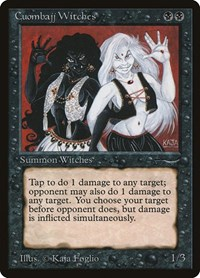 Cuombajj Witches, Magic: The Gathering, Arabian Nights