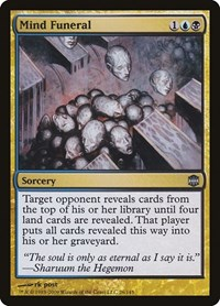 Mind Funeral, Magic: The Gathering, Alara Reborn