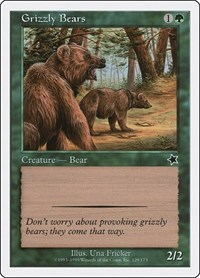 Grizzly Bears, Magic: The Gathering, Starter 1999