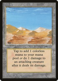 Desert, Magic: The Gathering, Arabian Nights