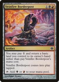 Veinfire Borderpost, Magic: The Gathering, Alara Reborn