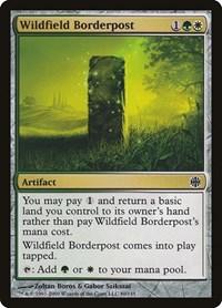 Wildfield Borderpost, Magic, Alara Reborn