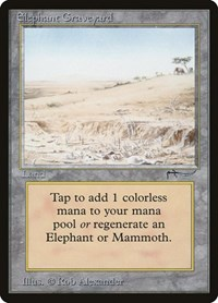 Elephant Graveyard, Magic: The Gathering, Arabian Nights