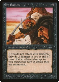 Erg Raiders, Magic: The Gathering, Arabian Nights