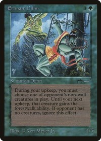 Erhnam Djinn, Magic: The Gathering, Arabian Nights
