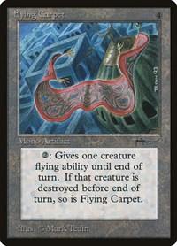 Flying Carpet, Magic: The Gathering, Arabian Nights