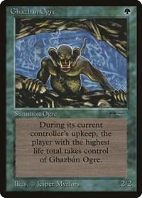 Ghazban Ogre, Magic: The Gathering, Arabian Nights