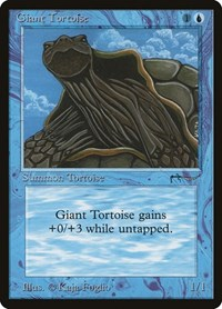 Giant Tortoise, Magic: The Gathering, Arabian Nights