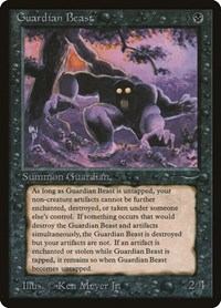 Guardian Beast, Magic: The Gathering, Arabian Nights