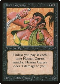 Hasran Ogress, Magic: The Gathering, Arabian Nights